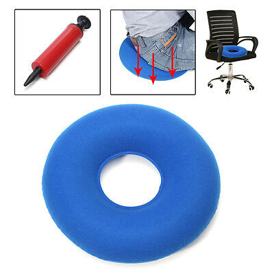 Inflatable Rubber Ring Round Seat Cushion Medical Hemorrhoid Pillow Donut 34cm