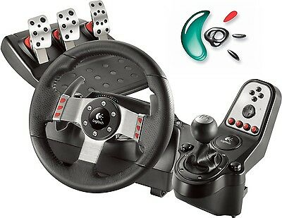 Volante Logitech Driving Force G27 Racing Wheel PC PS Incluye Pedales y Cambio