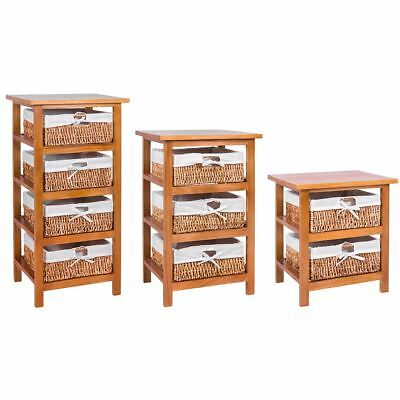 Maize Baskets Brown 2 3 4 Drawer Storage Cabinet Organiser New By Home Discount