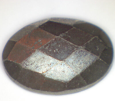 naturelle PYRITE taille cab + rose cut 6,90 cts - Saphirboutique GERMANY