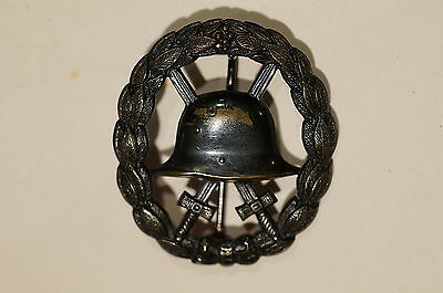 WW1 Imperial German Cut-Out Wound Badge Black