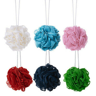 Ikea Abyan Body Puff Sponge For Bath / Shower- Pack Of 3 Assorted Colours
