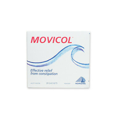 NEW Movicol Constipation Sachets Pack 30 Pack