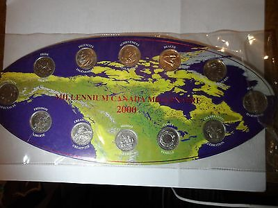 Collectible Canadian Coins 2000 Millennium