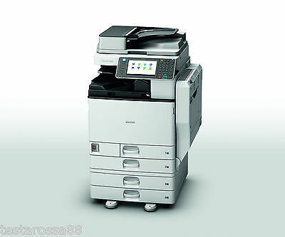 Ricoh MPC 3502 Colour Multifunction with Copy Scan Print & Fax low prints
