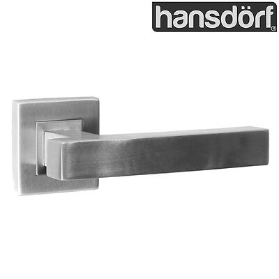 Kudos Dummy Door Lever Handle Kit Solid Stainless Steel