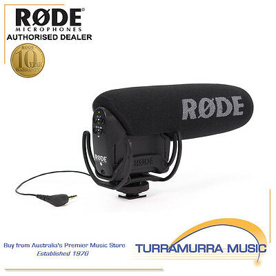 Rode VideoMic Pro VMPR video microphone with Rycote Lyre suspension