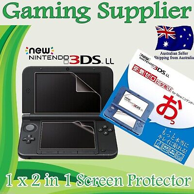 LCD Screen Guard Protector for New Nintendo 3DS XL / LL ( 2014 Model )