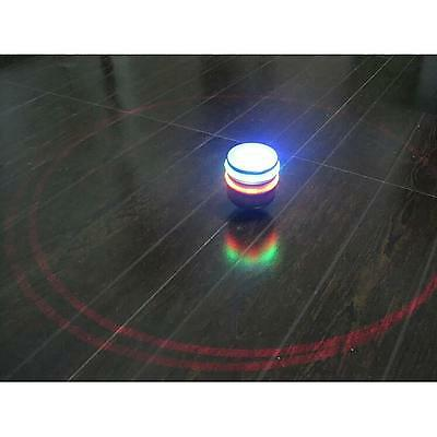 Single Laser LED Music Gyro Colorful Light Plastic Peg-Top Spinning Classic Toy