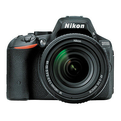 Nikon D5500 DSLR Camera 24.2MP With Nikon 18-140mm f/3.5-5.6G ED VR Lens NEW