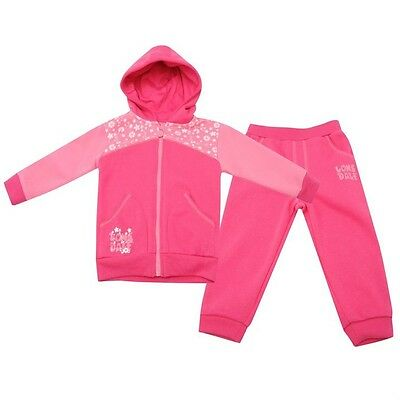 Lonsdale Baby Jogger BbyG40 Girls 18-24 months hooded pink