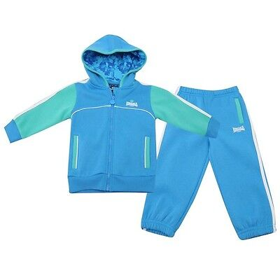 Lonsdale Baby Jogger BbyB40 Boys 6-12 months hooded blue
