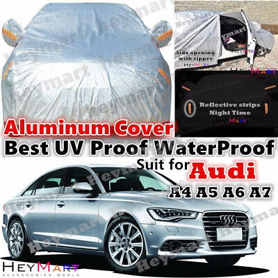 For Audi A4 A5 A6 A7 A8 Guarante waterproof Double thicker car cover car cover
