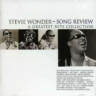 Stevie Wonder - Song Review A Greatest Hits Collection CD MOTOWN