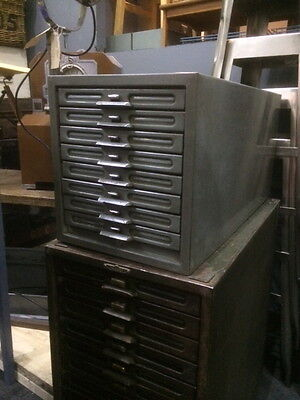 Vintage Industrial Remington Rand Kardex Flat Filing Cabinet Photographs