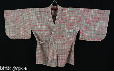 羽織 Haori Vintage - Lignes colorées - Veste - Import direct du Japon ! 1298