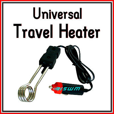 Universal Travel Water Boiler Heater for Car Van Caravan Motorhome Truck 12V
