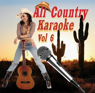 Karaoke CD+G All Country Vol-6 Quality Music /Carrie Underwood,Little Big Town+