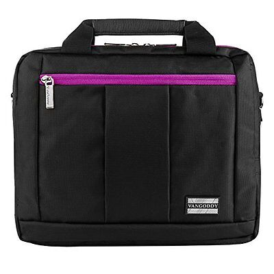 """VG El Prado Collection 3 in 1 Backpack and Messenger Bag for 10"""" inch Purple"""