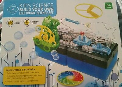 Kids Science.  Build Your Own Electronic Science Set. Educational Xmas Gift