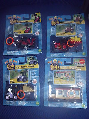 BNIB Take Along Bob the Builder Die Cast - Benny, Sumsy, Trix - 4 to choose from