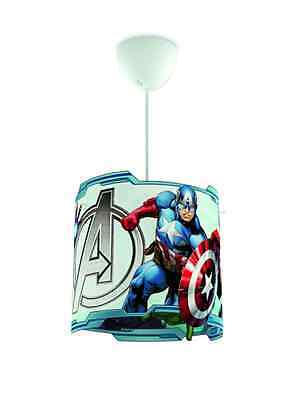 Childs Ceiling Pendant LightShade Marvel Avengers Kids Bedroom Boys Xmas Gift