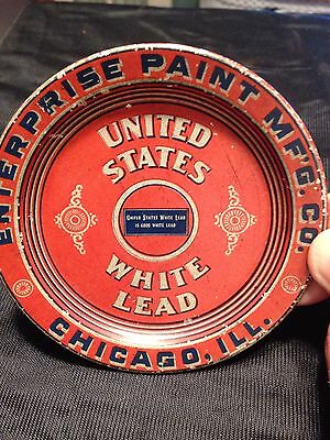 "Enterprise Paint Mfg Co Chicago Il 4 1/8"" Tip Tray"