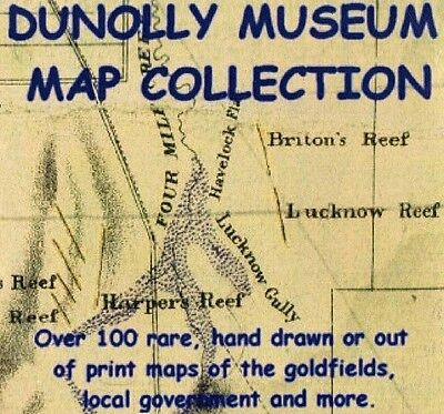 Dunolly Museum Map Collection CD (maps, metal detector spots)