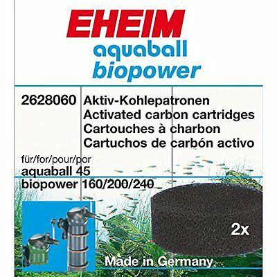 EHEIM *Filter cartridges for internal filter 2206*activated carbon x2*2628060