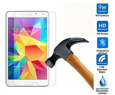 "Genuine Tempered Glass Screen Protector For Samsung Galaxy Tab 4 7.0""SM-T230/231"