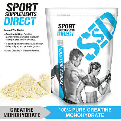 5Kg Micronised Pure Creatine Monohydrate - 5 X 1Kg - Hplc Tested - Certified