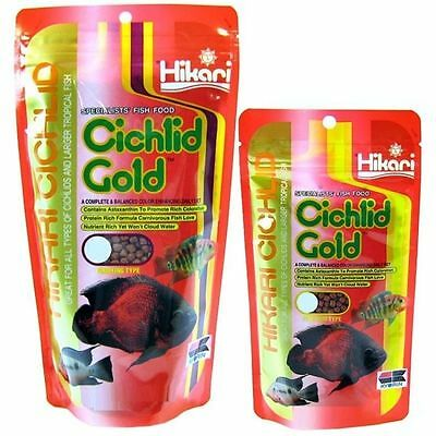 HIKARI*Cichlid Gold 57g or 250g* BABY,MINI ,MEDIUM,LARGE