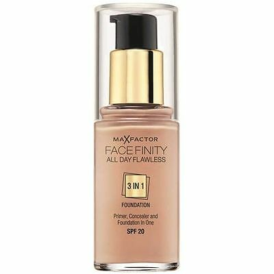 Max Factor Facefinity All Day Flawless 3 In 1 Beige 55