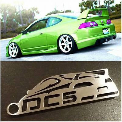 Acura / Honda RSX / DC5 with wing JDM Stainless Steel Custom Keychains