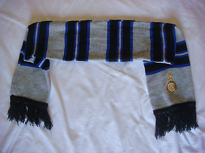 FC Internazionale (Inter Milan) officially licensed football soccer scarf, New
