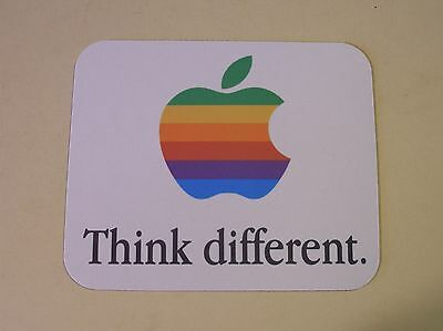 Apple Logo Think Different Mouse Pad