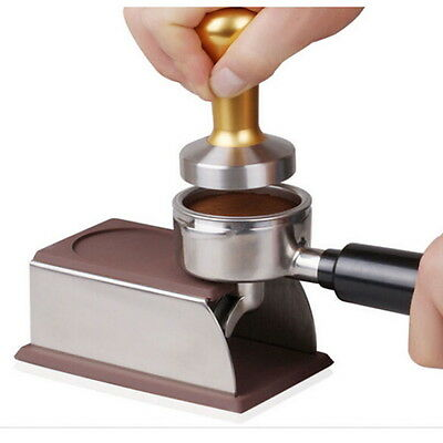 Espresso Holder Coffee Tamper Pod Rack Tool Accessory Holder NEW #UI