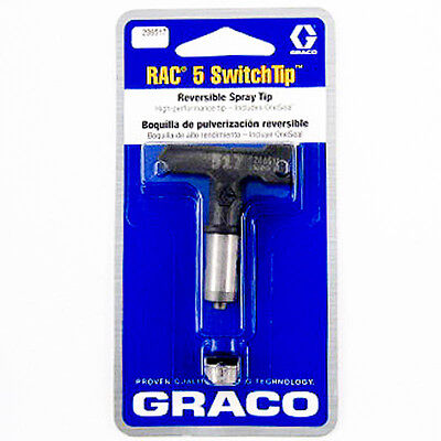 Graco 286515 RAC 5 Reversible Switch Tip for Airless Paint Spray Guns
