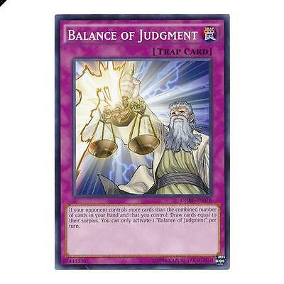 Yu-Gi-Oh! YuGiOh Balance of Judgment - CORE-EN078 - Common Unlimited Clash