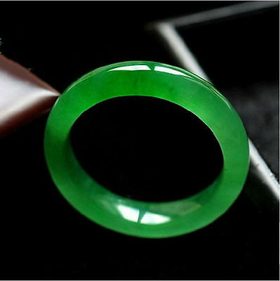Green Certified 100% Natural Royal nephrite jade jadeite bracelet 56mm-63mm