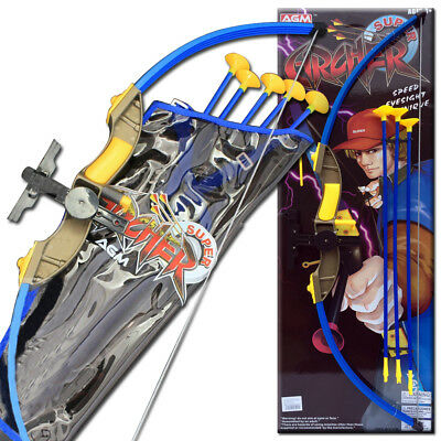 New Kids Agm Laser Infrared Toxophily Super Archery Crossbow Arrow Sport Set Toy