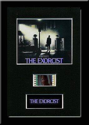 The Exorcist Framed 35mm Mounted Film cells - filmcell movie memorabilia gift