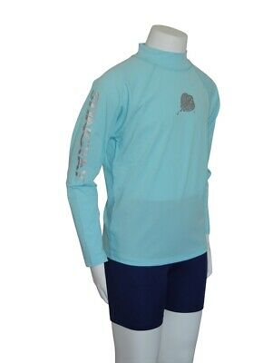 Youth Rash Guard Rashie Vest Surf Top Long Sleeve UV Sun Protection Size 10