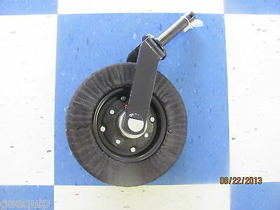 Bush Hog/ Rotary Cutter Heavy Duty Bearing Style Wheel1 1/2 Post Heavy Duty
