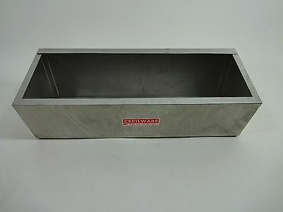 USED- Cecilware Stainless Condiment Rails Housing - No Pumps Included
