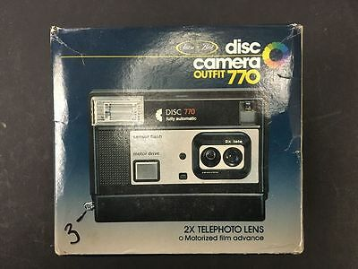 Vintage Disc Camera 770 in Box - VS3
