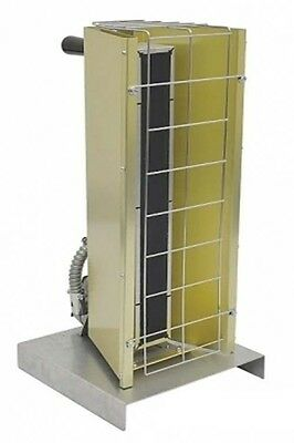 Portable Infrared HEATER - 4947 BTU - 120 Volt - 1 Phase - Prewired - Commercial