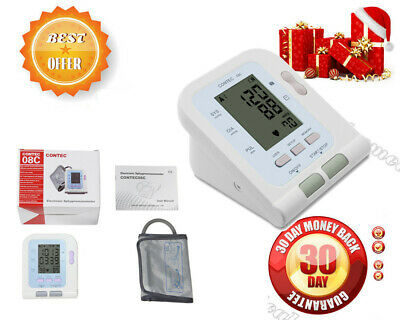 USA!!!FDA CE Digital Upper Arm blood pressure Monitor+Adult BP cuff+PC Software