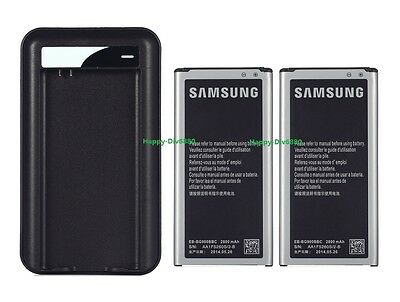 Brand new 2800mAh Battery For Samsung GALAXY S5 I9600 Active G870A+Charger