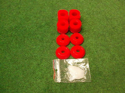 Stabilager PU-Lager 82shore Golf 2 G60 rot PU-Buchse Polyurethan